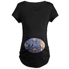 WYOMING Maternity Dark T-Shirt
