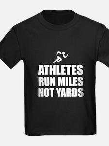 Athletes Run Miles T-Shirt