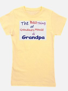 Cute Grandpa Girl's Tee