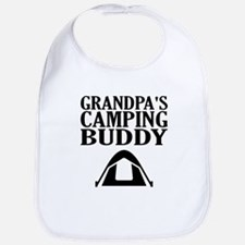 Grandpa's Camping Buddy Bib