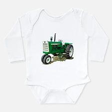 Unique Farmer dad Long Sleeve Infant Bodysuit