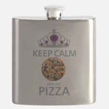 Keep Calm - Pizza Flask
