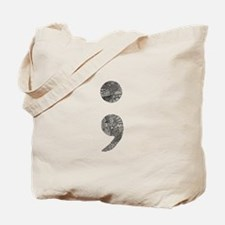 Patterned Semicolon #2 Tote Bag