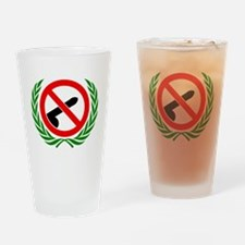 Dont be dick Drinking Glass