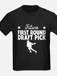 Future First Round Draft Pick Lacrosse T-Shirt