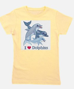 Cute Fish art Girl's Tee