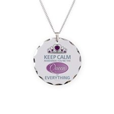 Keep Calm - Queen Necklace