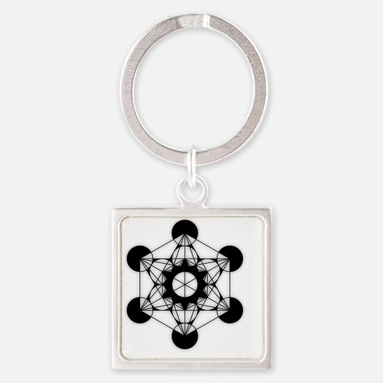 Cute Age of the universe Square Keychain