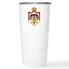 Cute Jordanian emblem Travel Mug