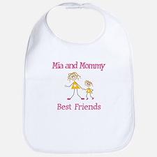 Mia & Mommy - Friends Bib