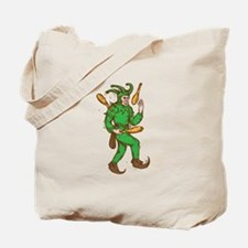 Medieval Jester Juggling Wooden Pins Drawing Tote