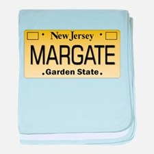 Margate NJ Tag Apparel baby blanket