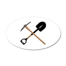 Miner Tools Wall Decal