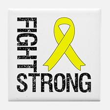 Ewing Sarcoma Fight Strong Tile Coaster