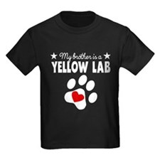My Brother Is A Yellow Lab T-Shirt