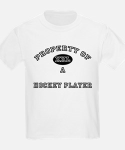 Property of a Hockey Player T-Shirt