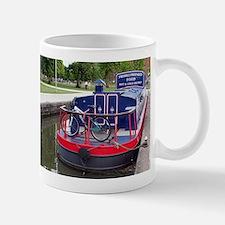 Baguette Barge,Stratford, England Mugs
