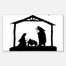Nativity Decal