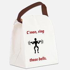 Unique Jingle bells Canvas Lunch Bag