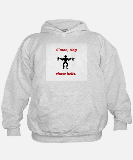 C'mon, ring those bells - Holiday Weig Hoodie