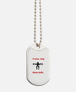C'mon, ring those bells - Holiday Weight Dog Tags