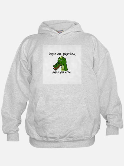 Jingle Bell Croc - Holiday Crocodile D Hoodie