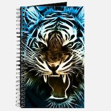 Fractal Tiger Art Journal