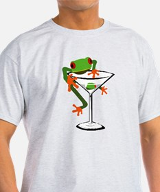 Cute Red eyed tree frog kids T-Shirt