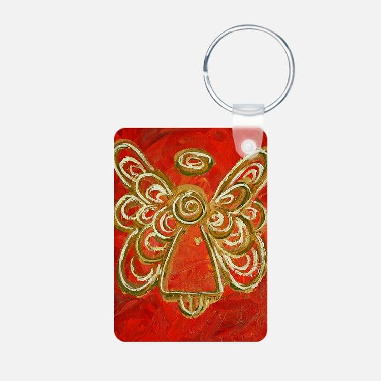 Red Angel Art Keychains
