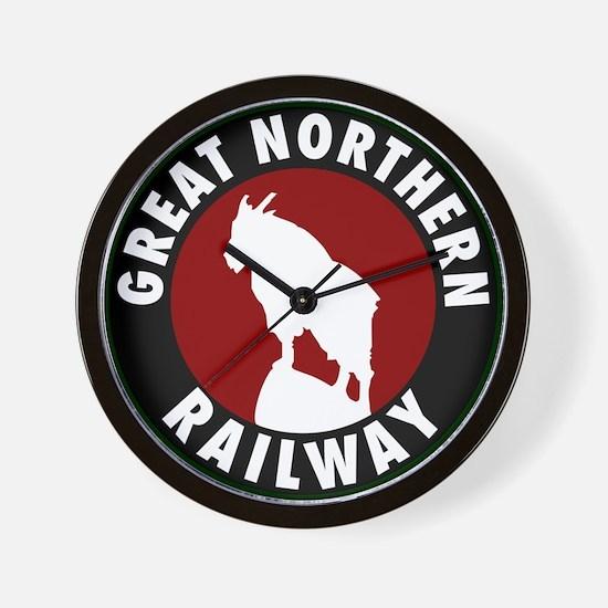 Great Northern Railway Wall Clock