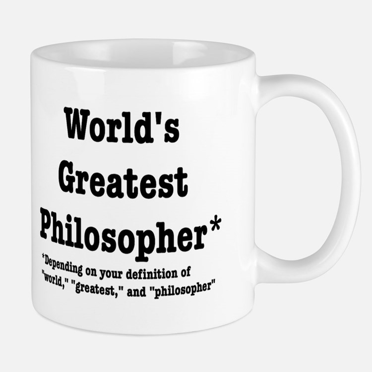 Cute Philosophy Mug