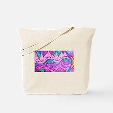 Goddess Purple Tote Bag