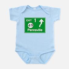 NJTP Logo-free Exit 1 Pennsville Body Suit