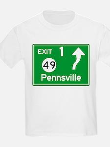 NJTP Logo-free Exit 1 Pennsville T-Shirt