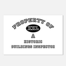 Property of a Historic Buildings Inspector Postcar