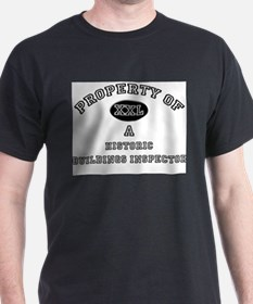 Property of a Historic Buildings Inspector T-Shirt
