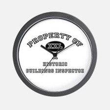 Property of a Historic Buildings Inspector Wall Cl