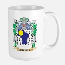 Getchell Coat of Arms (Family Crest) Mugs