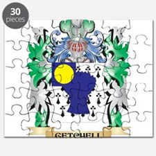 Getchell Coat of Arms (Family Crest) Puzzle