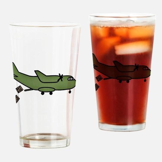 UNICEF Cargo Flight Drinking Glass
