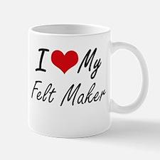 I love my Felt Maker Mugs