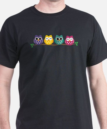 Unique Owls T-Shirt
