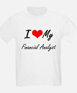 I love my Financial Analyst T-Shirt