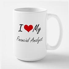 I love my Financial Analyst Mugs