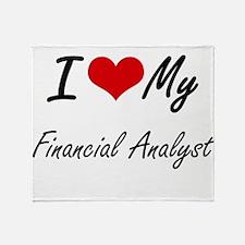 I love my Financial Analyst Throw Blanket