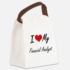 I love my Financial Analyst Canvas Lunch Bag