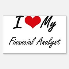 I love my Financial Analyst Decal
