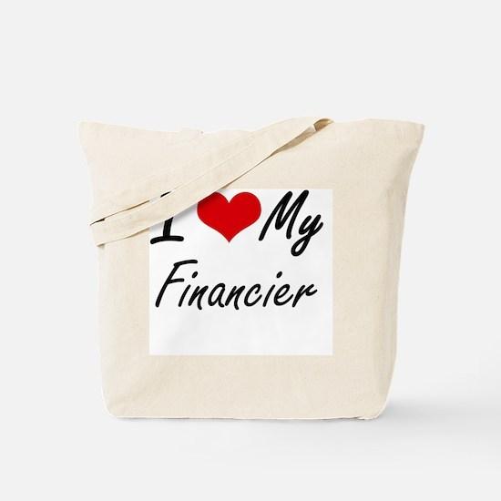 I love my Financier Tote Bag