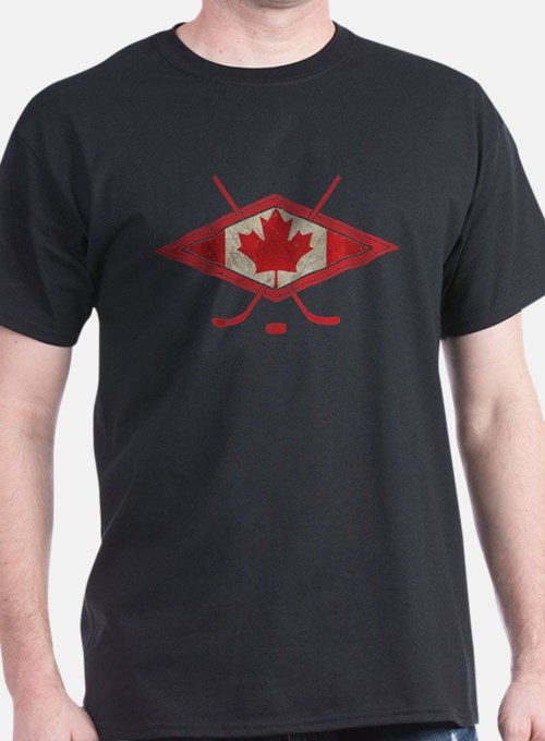Canada hockey t shirts shirts tees custom canada for Personalized t shirts canada