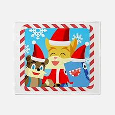 Funny December Throw Blanket